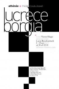 Lucrèce Borgia : Affiche