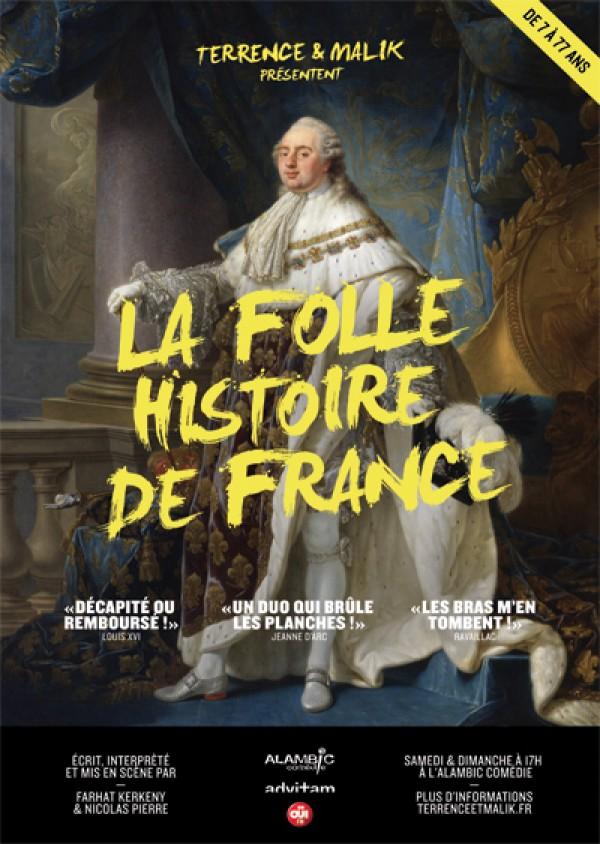 Terrence et Malik… La folle histoire de France au Théâtre Alambic Comédie