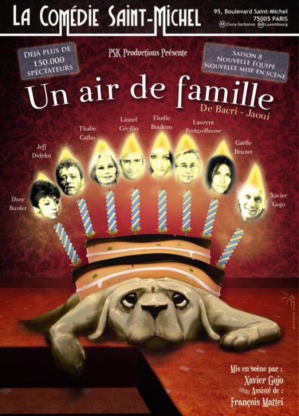 Un air de famille à la Comédie Saint-Michel