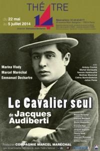 Le Cavalier seul de Jacques Audiberti au Théâtre 14