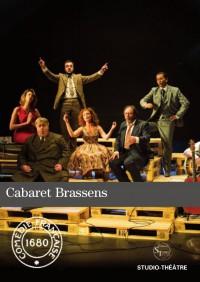 Cabaret Brassens au Studio Théâtre