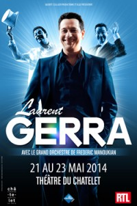 laurent gerra au theatre du chatelet