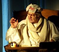 Le Malade imaginaire à la Comédie Française. Gérard Giroudon : Argan.