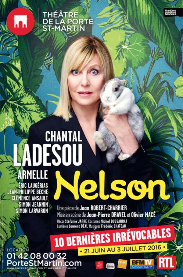 Nelson avec chantal ladesou th tre de la porte saint - Theatre de la porte saint martin 75010 paris ...