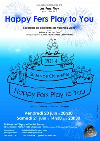 Happy Fers Play to You au Théâtre Daniel Sorano