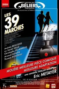 Les 39 Marches au Théâtre des Béliers Parisiens
