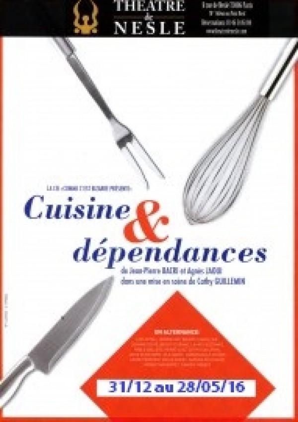 cuisine et dépendances - théâtre de nesle | l'officiel des spectacles