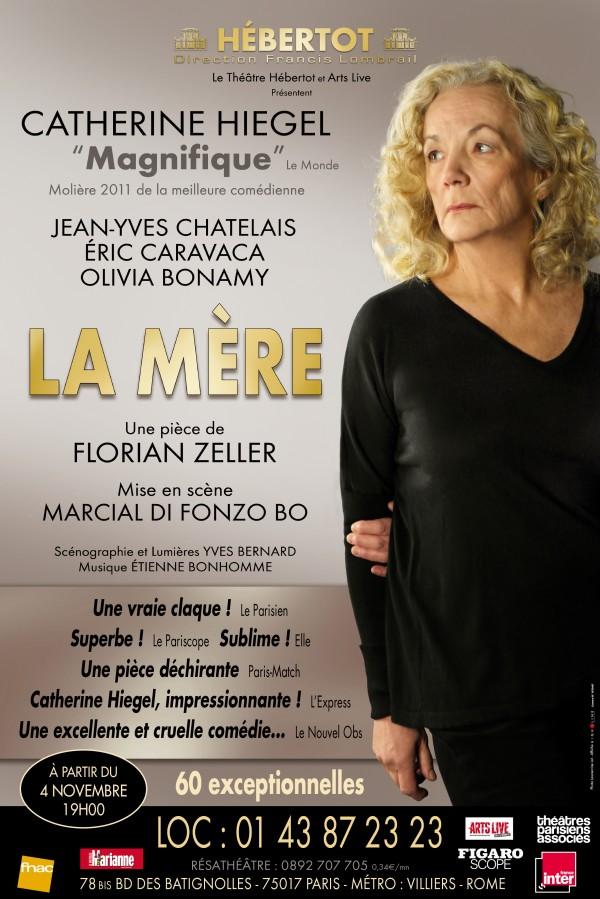 La Mère au Théâtre Hébertot, avec Catherine Hiegel