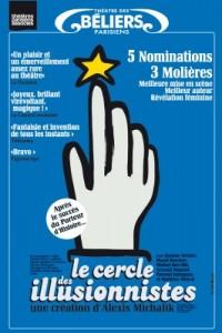 Le Cercle des illusionnistes au Théâtre des Béliers parisiens