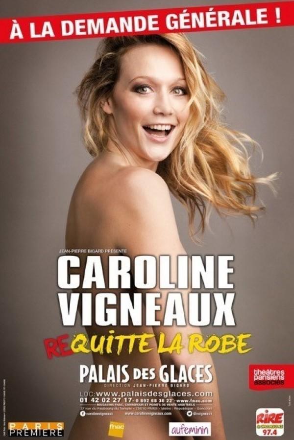 Caroline Vigneaux re-quitte la robe - Palais des Glaces   L ...