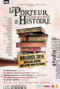 Le Porteur d'histoire au Studio des Champs-Élysées