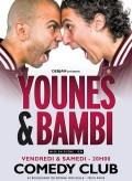 Younes et Bambi : L'Arabe et le Juif au Comedy Club