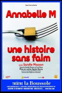 Annabelle M, une histoire sans faim au Théâtre La Boussole