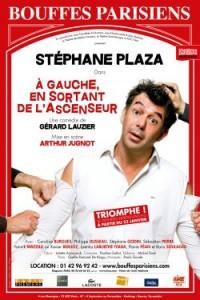 À gauche en sortant de l'ascenseur au Théâtre des Bouffes Parisiens