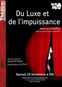 Du luxe et de l'impuissance au Théâtre de Ménilmontant