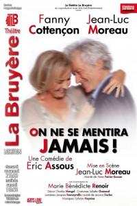 On ne se mentira jamais ! au Théâtre La Bruyère