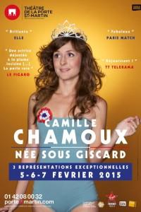Camille Chamoux : Née sous Giscard au Théâtre de la Porte Saint-Martin