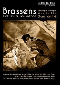 Georges Brassens : Lettres à Toussenot au Guichet-Montparnasse