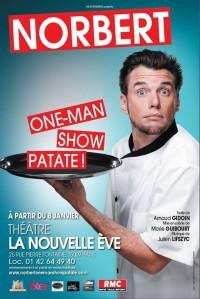 Norbert, one-man show patate ! à La Nouvelle Ève