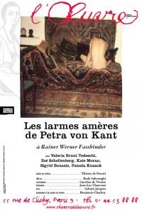 Les Larmes amères de Petra von Kant au Théâtre de l'Œuvre
