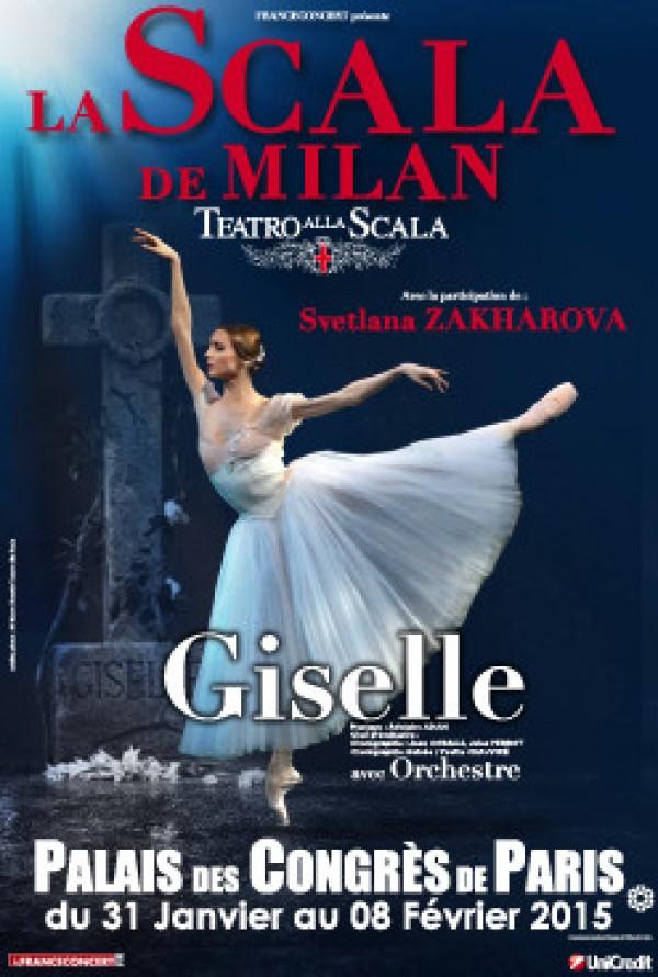 Giselle palais des congr s de paris l 39 officiel des spectacles - Lac des cygnes porte maillot ...
