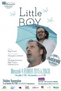 Little Boy au Théâtre Traversière