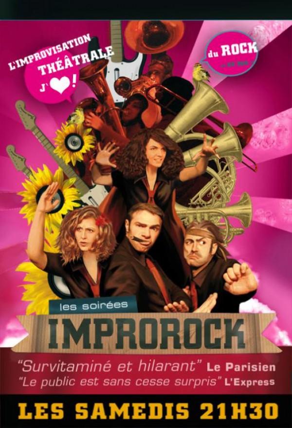Improrock au Théâtre Le Passage vers les Étoiles