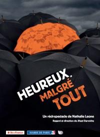 Nathalie Léone : Heureux, malgré tout à l'Espace Jemmapes