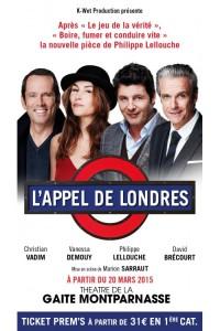 L'Appel de Londres au Théâtre de la Gaîté-Montparnasse