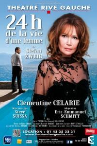 24 heures de la vie d'une femme au Théâtre Rive Gauche