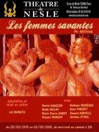 Les Femmes savantes au Théâtre de Nesle