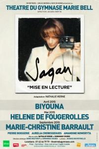 Sagan : Mise en lecture au Théâtre du Gymnase