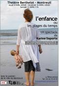 Enfance (Ou les plages du temps) Théâtre Berthelot