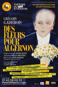 Des fleurs pour Algernon au Théâtre du Petit Saint-Martin