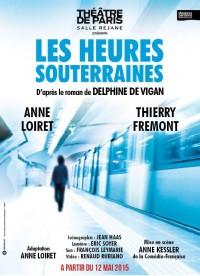 Les Heures souterraines au Théâtre de Paris