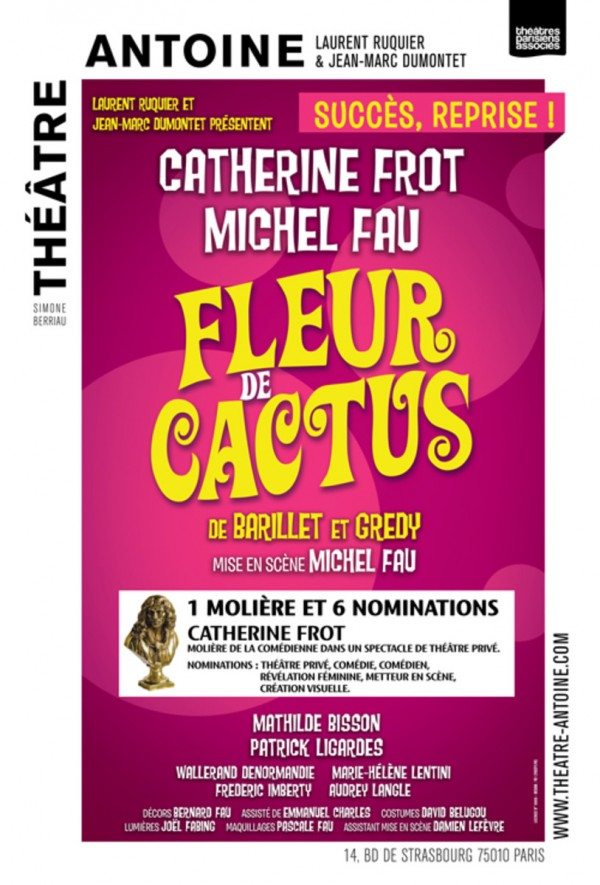 Fleur de cactus au Théâtre Antoine