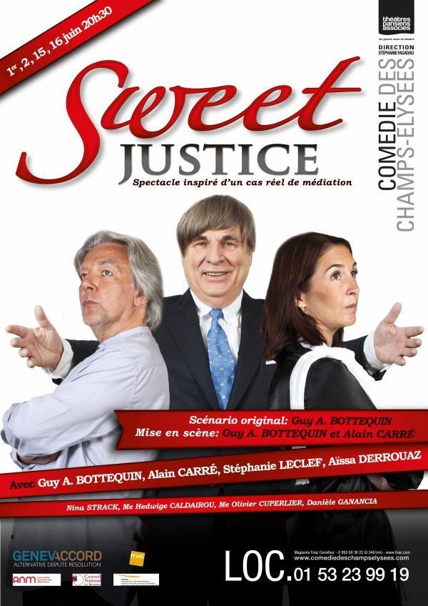 Sweet justice com die des champs lys es l 39 officiel - Comedie des champs elysees ...