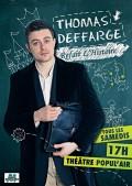 Thomas Deffarge refait l'Histoire au Café-théâtre Popul'air du Reinitas