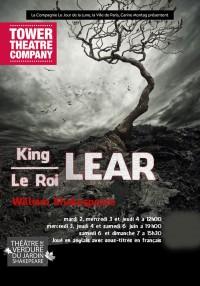 King Lear au Théâtre de verdure du Jardin Shakespeare