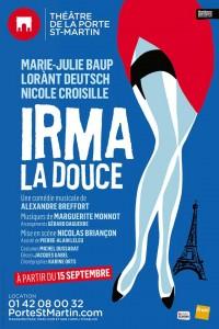 Irma la Douce au Théâtre de la Porte Saint-Martin