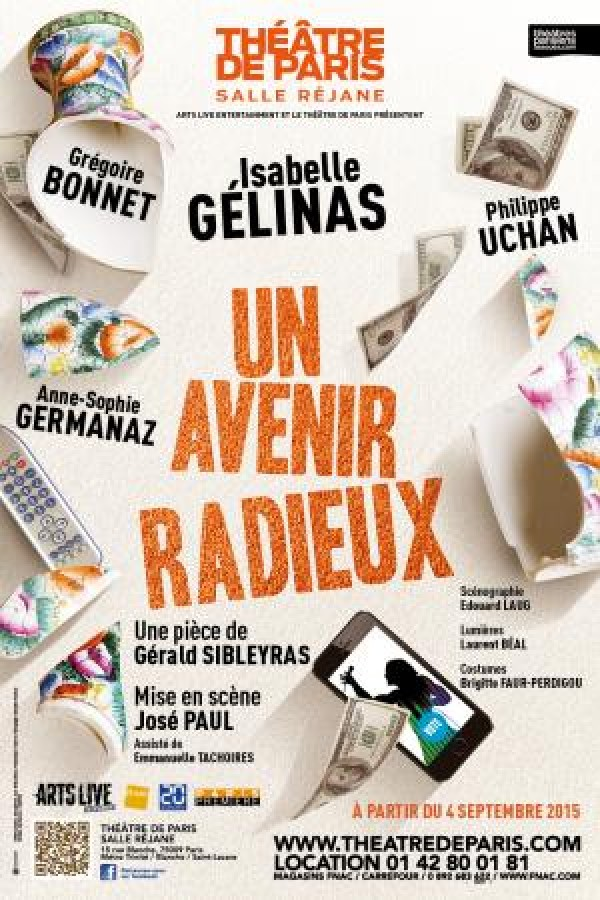 Un avenir radieux au Théâtre de Paris, avec Isabelle Gélinas