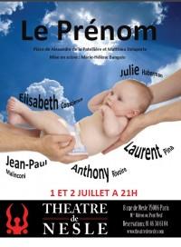 Le Prénom au Théâtre de Nesle