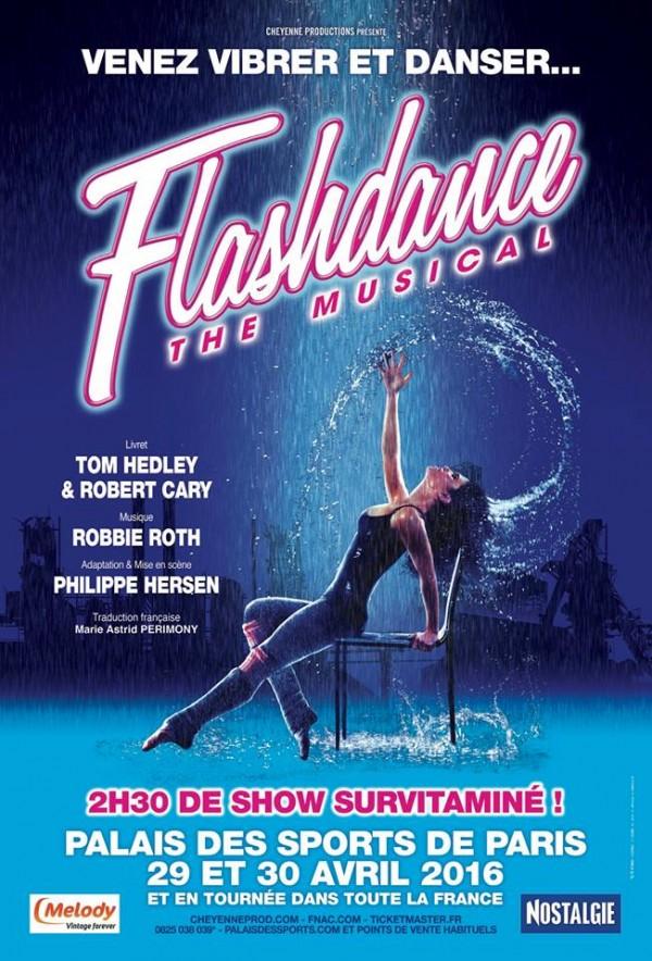 Flashdance le d me de paris palais des sports l - Palais des sports porte de versailles ...