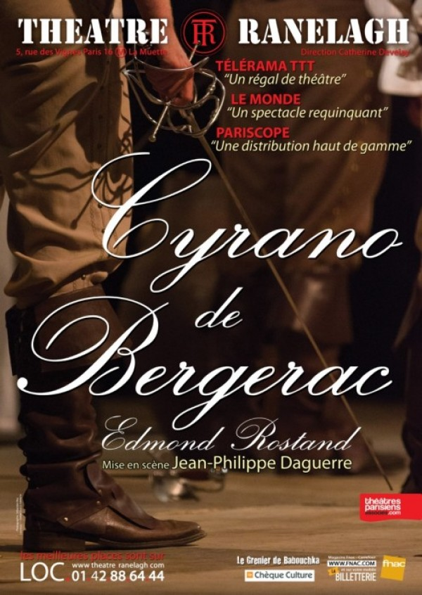 Cyrano de Bergerac au Théâtre Ranelagh