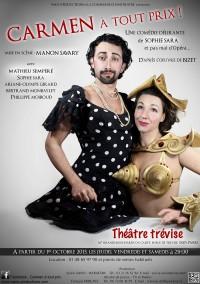 Carmen à tout prix au Théâtre Trévise