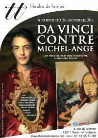 Da Vinci contre Michel-Ange au Théâtre du Temps