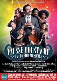 Fausse moustache, la comédie musicale au Théâtre Clavel