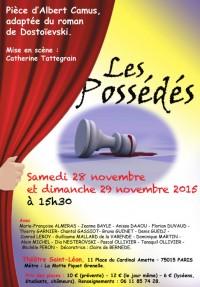 Les Possédés au Théâtre Saint-Léon