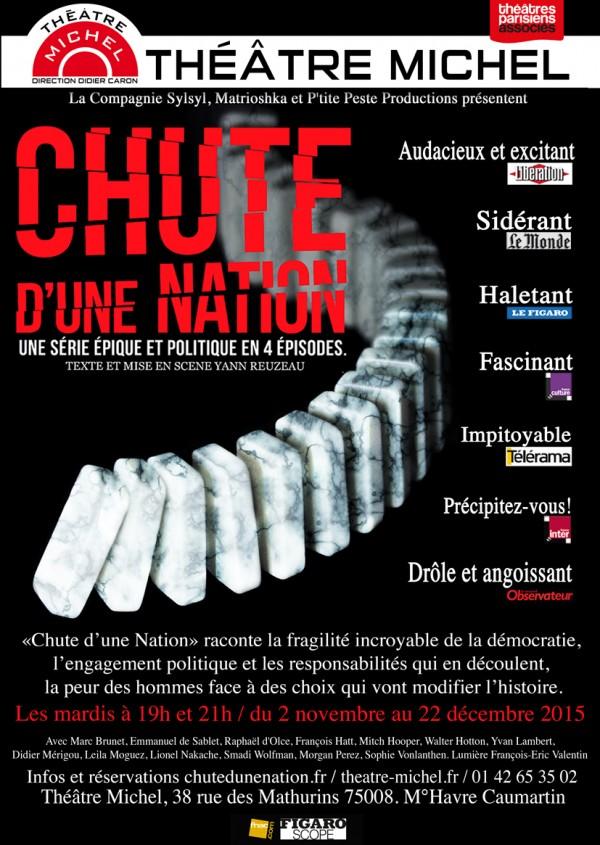 Chute d'une nation au Théâtre Michel