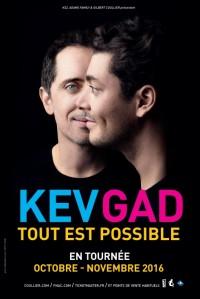 Kev & Gad : Tout est possible - Visuel de la tournée